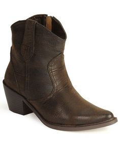 Roper Distressed Ankle Boots