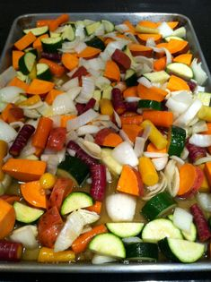Oven Roasted Vegetables – The Hungry Husky