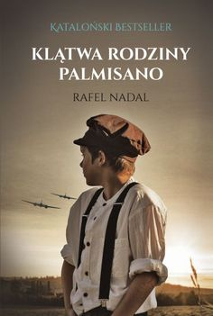 Klatwa rodziny Palmisano Rafel Nadal cover image © Stephen Mulcahey / Arcangel Images Book Cover Design, Best Sellers, Book Covers, Books, Photographs, Movies, Movie Posters, Pictures, Image