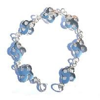 Sterling Silver 925 7 1/4 inch Celtic Knot bracelet this is a new celtic design you will enjoy wearing. Only $24