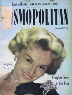 September 1950 cover with the late Eva Gabor Life Magazine, Magazine Art, Magazine Covers, Eva Gabor, Zsa Zsa, Cosmopolitan Magazine, Covergirl, Drugs, Image Search