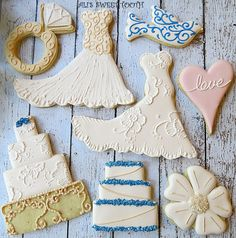 Ali's Sweet Tooth wedding cookies