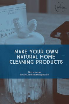 DIY natural home cleaning. 3 recipes to make all natural home cleaning products