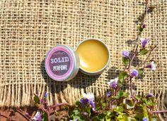Solid Perfume Amber Rose Patchouli BLACK ROSE Provocative & Sultry Natural Fragrance