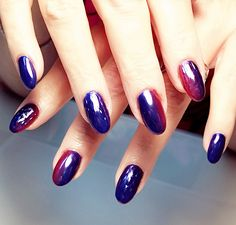 Chrome nails! Chrome...