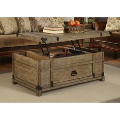 Coast to Coast Imports LLC Coffee Table with Lift Top