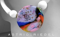 Astrid Riedel Glass Artist: Wearable Glass Art!