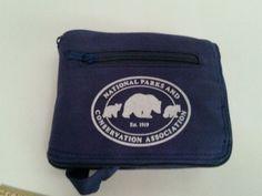 #NationalParksConservation FOLD UP #Carryall #Bag Vintage #Tote Blue Pocket Handle #Nationalpark #ToteBag