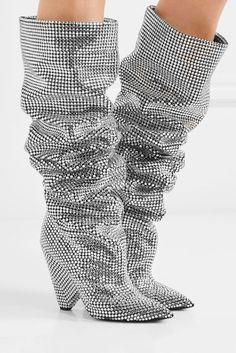 promo code 029b2 b239f The Exact Boots Kendall Wore. AnkelstövlarSkor KlackarSaint  LaurentSkoskåpSwarovski KristallerSkorBootsTältHöga Klackar