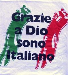 Thank God I'm Italian! ~ Grazie a Dio sono Italiano Italian Life, Italian Girls, Italian Style, Italian Humor, Italian Quotes, All About Italy, Italian Phrases, Italian Language, Little Italy