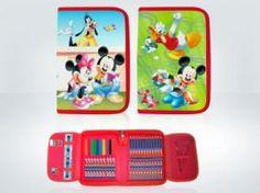 Bob Esponja, Mickey o Minnie podrán acompañar cada día a los niños en sus clases con estos preciosos y completos estuches. No les faltará detalle, con los cupones descuento de CaripenDeal la vuelta al cole será con ahorro.