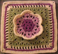 YarnCrazy crochet world: Kaleidoscope Blossom
