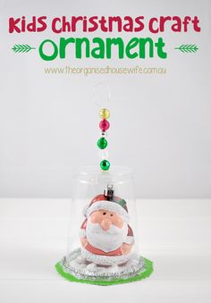 Kids Christmas Craft - ornament