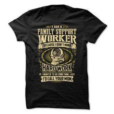 Family Support Worker T-Shirt Hoodie Sweatshirts ueo. Check price ==► http://graphictshirts.xyz/?p=49215