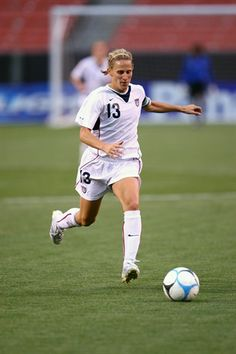 Kristine Lilly played 352 games for the U.S. women's soccer team, winning Olympic gold in 1996 and 2004 and silver in 2000. #TitleIX