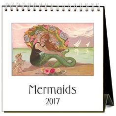 Mermaid Calendar $12.95 www.mermaidhomedecor.com - Mermaid NEW (1)