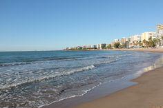 #Benicassim #Spain at the Heliopolis Beach #travel #Spain