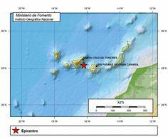 El Eco de Canarias: Terremoto entre Gran Canaria y Tenerife. 9 enero