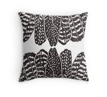 'Tribal Feathers Black' Throw Pillow by daisy-beatrice Black And White Pillows, Black Throw Pillows, Throw Pillow Covers, Southwestern Bedroom, Southwest Decor, Black Shower Curtains, Tribal Feather, Daisy, Cushions