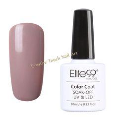 Buy ELITE99 SOAK OFF UV/LED GEL NAIL POLISH - NUDE COLOR SERIES - 006 for R87.75