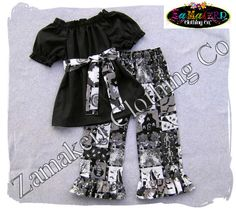 Hey, I found this really awesome Etsy listing at https://www.etsy.com/listing/109211064/girl-spooky-halloween-outfit-girl-top