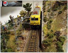Maqueta española. HO - HOm. Épc. IV - VI. Ferrocarriles de la Península Ibérica.: Diorama expositor. Escala H0. Parte VIII.