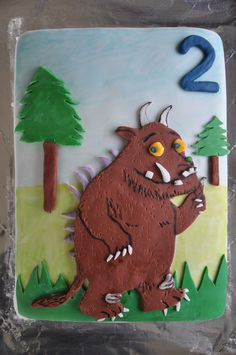 Gruffalo  http://whatdoyoumakeofmycake.blogspot.co.uk/