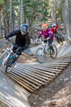 Northstar Bike Park is offering new Specialized Bike Academy, which offers freeride mountain bike lessons on world-class Specialized equipment || Northstar California Resort