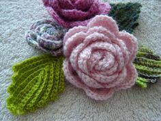 433 Besten Häkeln Blätter Bilder Auf Pinterest Crochet Flowers