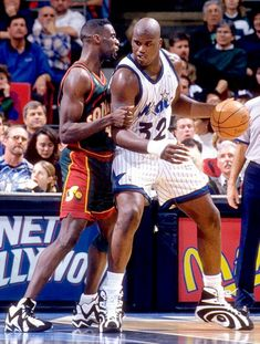 Shaquille O´Neal Orlando Magic Shawn Kemp Seattle Supersonics