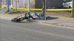 Franco Quiroga del Barrio Ferroviario muere al chocar contra un poste en su moto