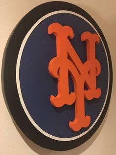 Custom New York Mets Logo Sign by DMCdesignsShop on Etsy
