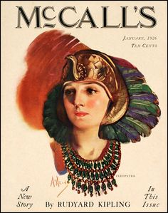Cleopatra - Neysa McMein, McCalls, January 1926.