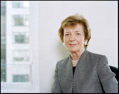 Mary Robinson :: United Nations High Commissioner for Human Rights & inspirational Irish woman leader