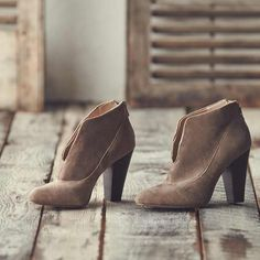 Put a little pep in your step with new fall booties.