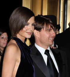 famous hairstyle with katie holmes