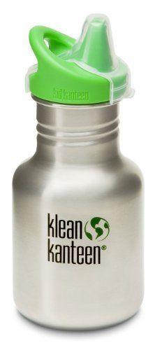 11bec571d7b1c Klean Kanteen 12 oz Stainless Steel Sippy Cup - Brushed Stainless. Fancy  Water BottlesBaby BottlesRunning AccessoriesBaby ...