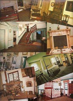 Mount Vernon, interior scenes