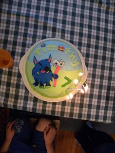 Moshling cake (from Moshi Monsters)