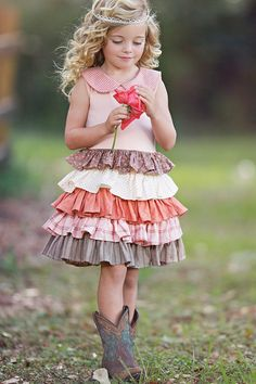 Persnickety Clothing - Apple Blossom Spring 2014 - Macie Jane Dress - Size 6 - My Little Jules Flower Girl Outfits, Little Girl Outfits, Little Girl Fashion, My Little Girl, Toddler Fashion, Little Princess, Kids Outfits, Kids Fashion, Cute Outfits