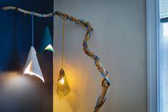 DIY Modern Cone Pendant Lamp