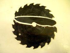 Homemade Knife from Circular Saw Blade