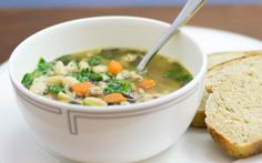 This hearty soup is full of rich Italian flavors and is a great companion on a cold winter night.