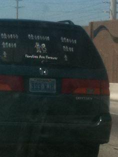 Family Tree Car Stickers