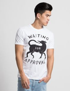 Parra White Approval T-Shirt