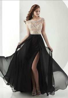 Sexy Beading Prom Dress,Chiffon Bateau Prom Dress,Chiffon #prom #promdress #dress #eveningdress #evening #fashion #love #shopping #art #dress #women #mermaid #SEXY #SexyGirl #PromDresses