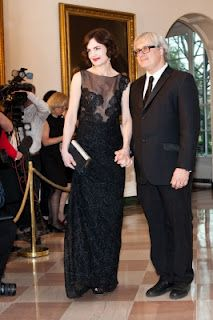 Hugh Bonneville & Elizabeth McGovern attend White House State Dinner (pictures). http://www.downtonabbeyaddicts.com/2012/03/hugh-bonneville-elizabeth-mcgovern.html
