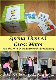 Spring Themed Gross Motor - 3Dinosaurs.com