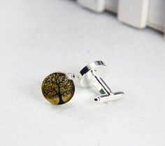 Customize your own cufflinks with image you like.