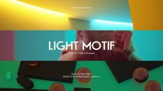 'Light Motif', A 'Synaesthetic' Short Film Starring a Monkey in a Brightly Colored Room Full of Bouncing Balls